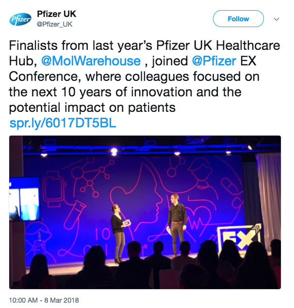 Mw Presents At Pfizer Ex Global Innovation Conference